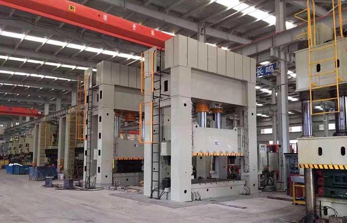 1000吨快速框架液压机 1000吨薄板拉伸机